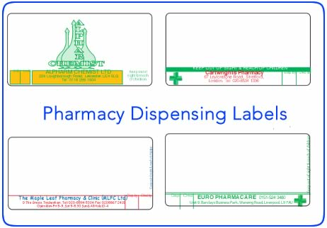 rx label template