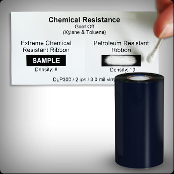 Chemical Resistant Barcode Ribbon