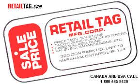 Retail Tag