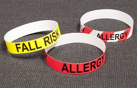 Color Coded Alert Medical Band