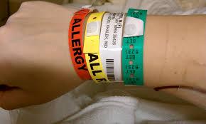Hospital ID Wristband