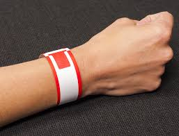Patient ID Single Wristband