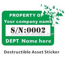 Asset Sticker