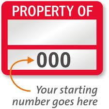 Property-Label