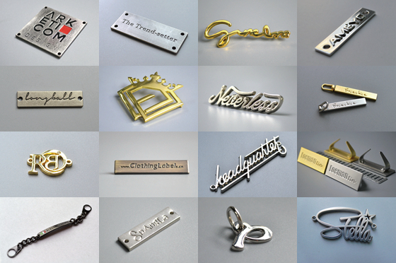 Metallic-Garment-Label
