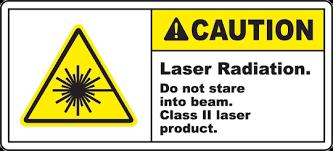Laser-Radiation-Warning-Label