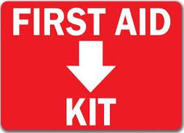 First Aid Signs Name Plate