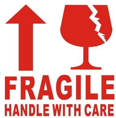 Fregile Sticker Labels