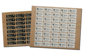 Laserable Blank Labels