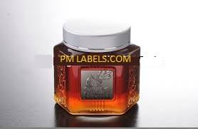 Metal Oil Label