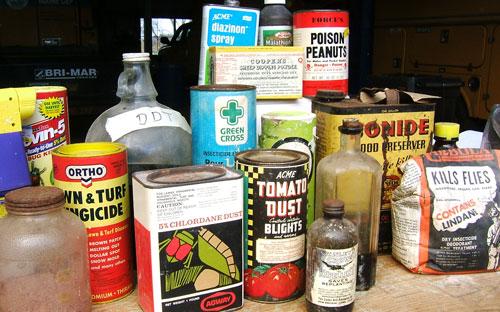 Agricultural Pesticide Labels