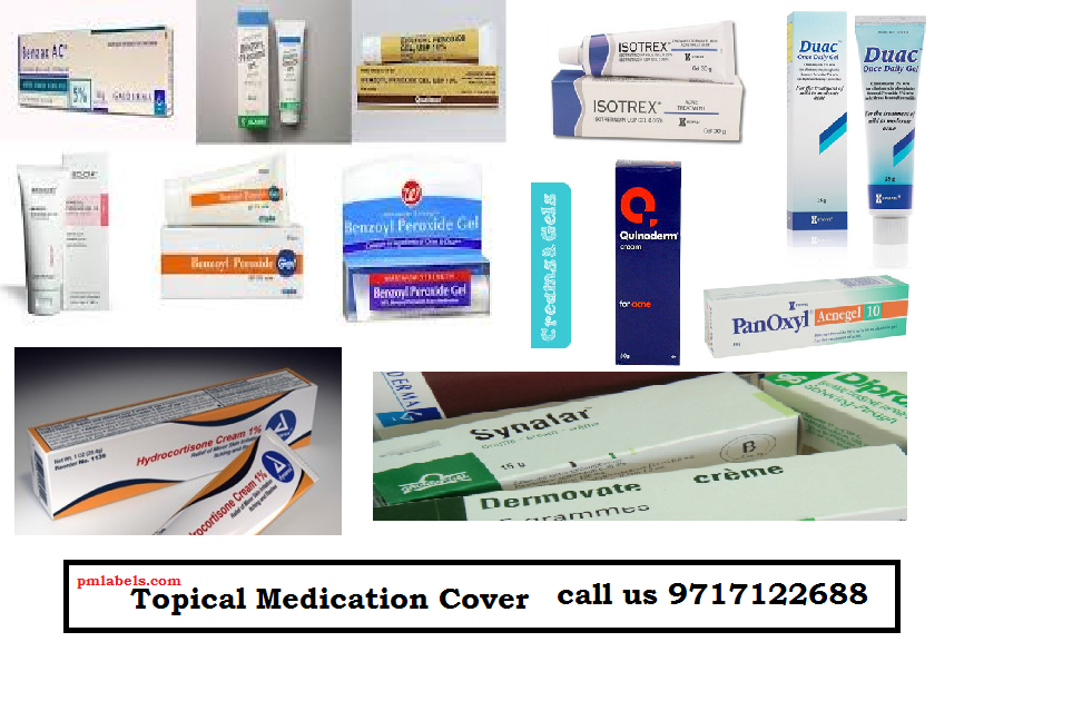 Topical Medication Packaging Cover