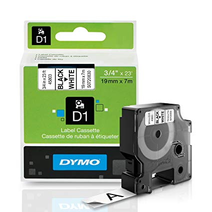 DYMO Self Adhesive D1 Polyester Label Tape