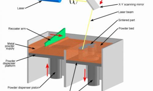 Direct Metal Laser Sintering Printing