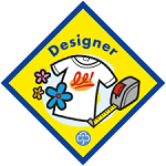 Designer Girl Guiding Badge