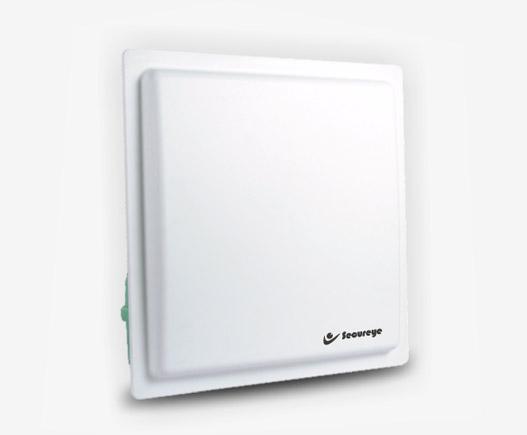 Long range UHF RFID Integrayed Reader with RS232,485 & weigand 26, 34 port (circularly polarized antenna)