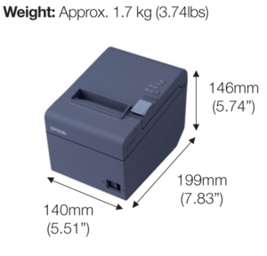 Epson TM T82 Bill Printer