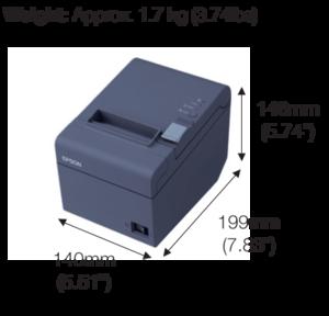 Epson TM T82 Bill Printer