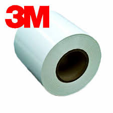 3M White Polyster Label