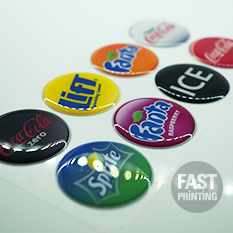3D Domed Sticker