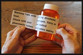 Printed Pharmacy Label