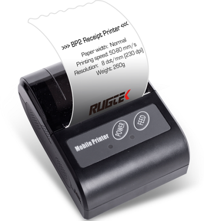 Rugtek BP02 Mobile Printer
