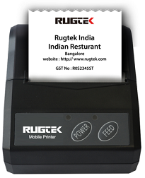 Rugtek BP02 II Mobile Printer
