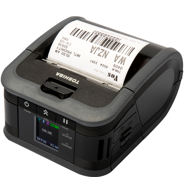 Toshiba B FP3 Thermal Label Printer