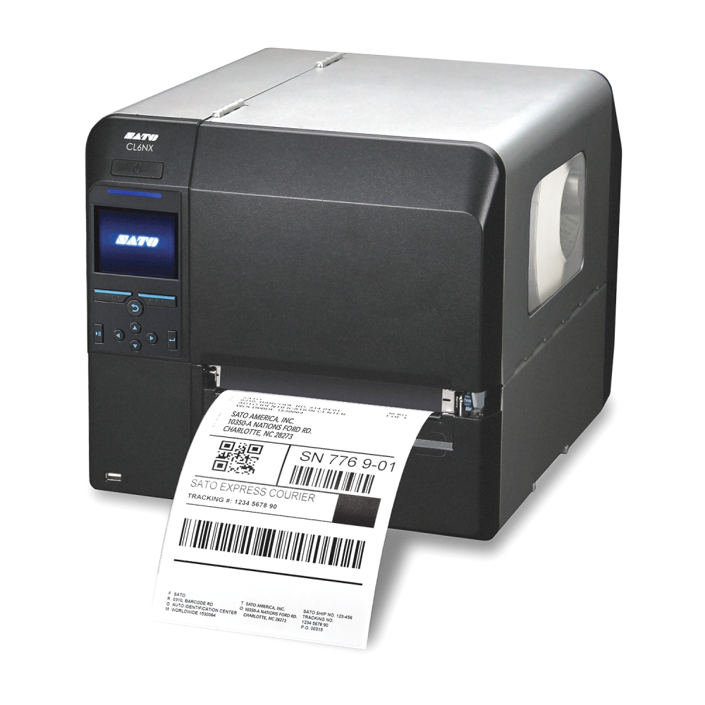 Sato CL6NX Barcode Printer