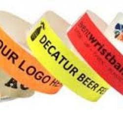 Thermal adhesive Closure Wristbands