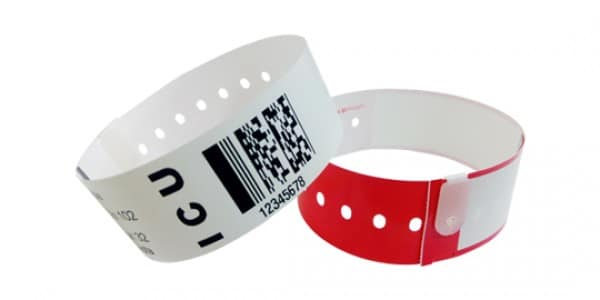 Thermal Snap Closure Wristbands
