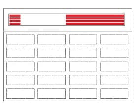 Laser Printable Wristband Label Sheets
