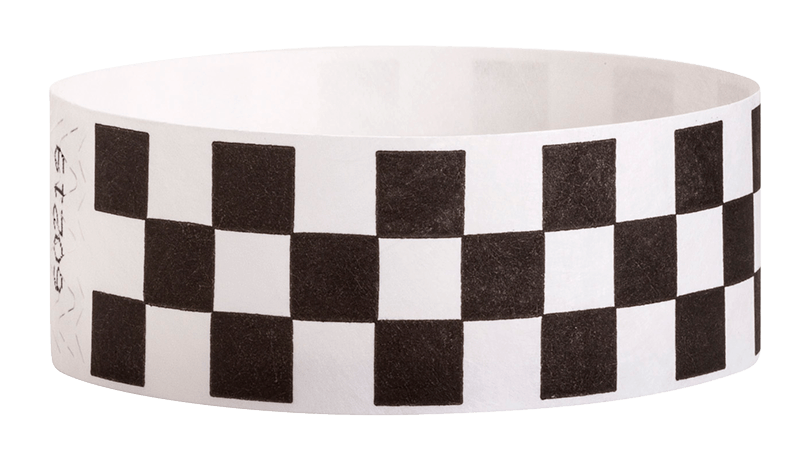 Variable Barcoded Tyvek Wristbands