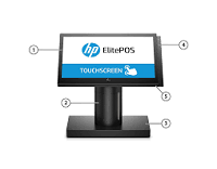 HP Elite POS with Intel i3   7100U (Free DOS)