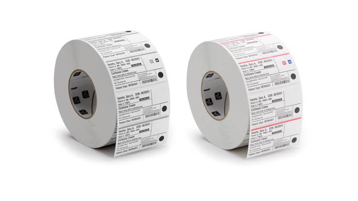 Zebra IQ Colour Paper Labels