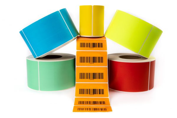 Citizen Coloured Thermal Labels