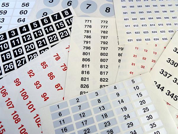 Argox Numbering Label