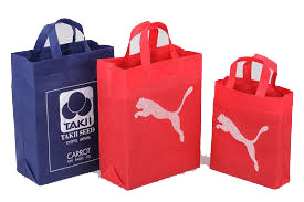 Brand Promotion Non Woven Loop Handle Bag