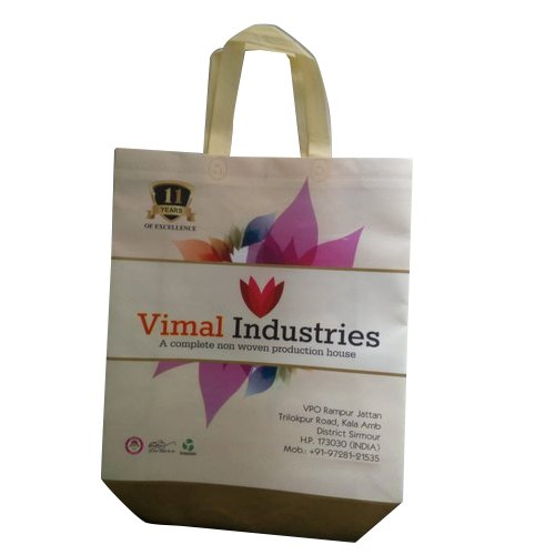 Laminated Loop Handle Non Woven Shopping Bag
