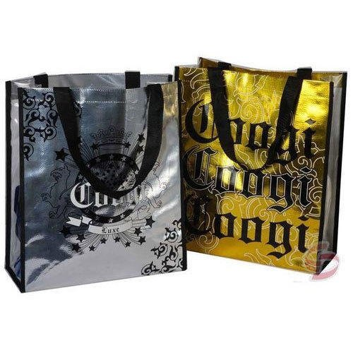 Silver and Golden Non Woven Printed Lamination Bag