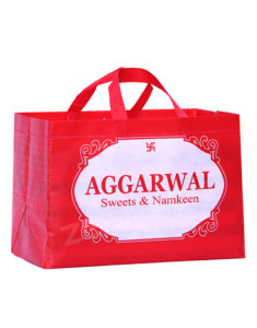 Non Woven Custom Sweet Carry Bags