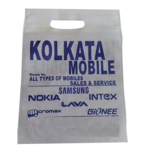 Mobile Carry Single Color Printed Non Woven Bag