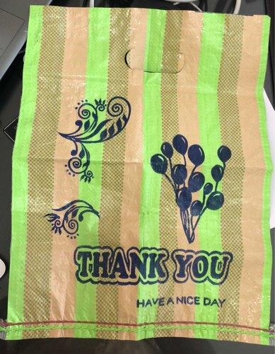 Plain PP Woven Shopping Bags