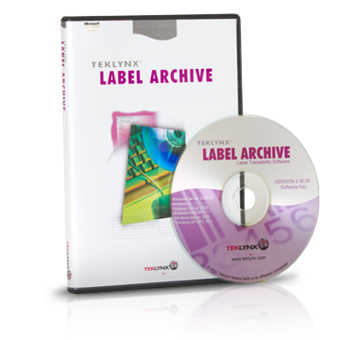 TEKLYNX LABEL ARCHIVE Label Storage Software