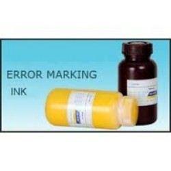 Error Marking Ink