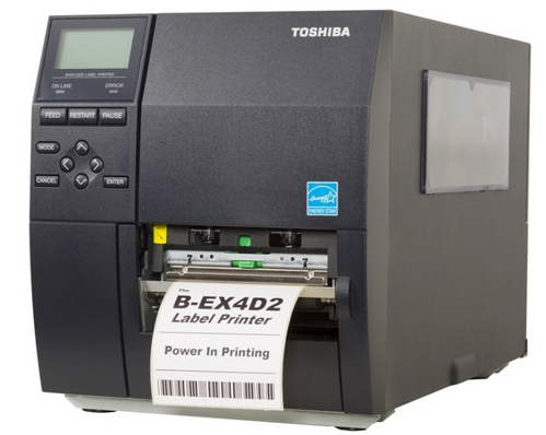 TOSHIBA TEC B EX4T1 Barcode Printer