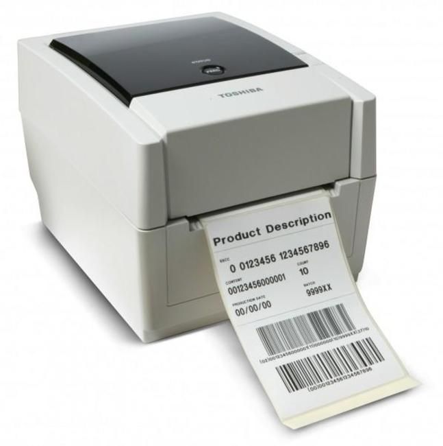 Toshiba B EV4T Desktop Barcode Printer