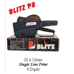 Blitz Single Liner Machine Model P 8 Hand Labeler