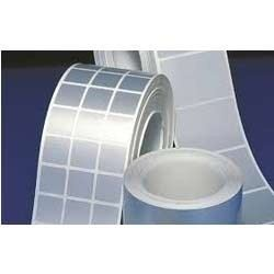 3M Matte Silver Polyester Label