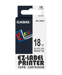 Casio XR 18WE1 Label Printer Tape